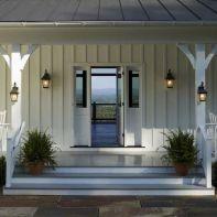 Most stylish farmhouse front door design ideas 12