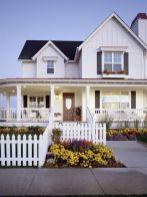 Most stylish farmhouse front door design ideas 13