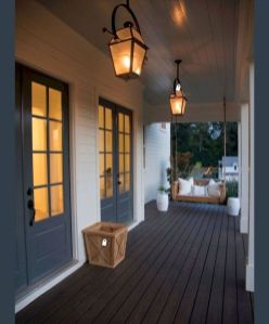 Most stylish farmhouse front door design ideas 19