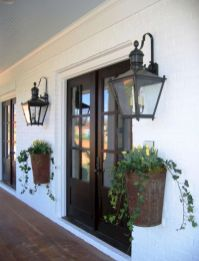 Most stylish farmhouse front door design ideas 20