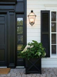 Most stylish farmhouse front door design ideas 23
