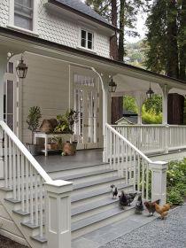 Most stylish farmhouse front door design ideas 39