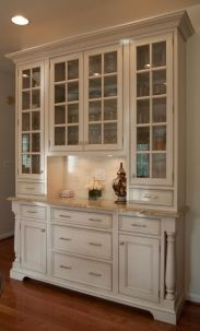 Most unique china cabinet makeover ideas 05
