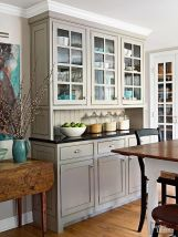 Most unique china cabinet makeover ideas 08