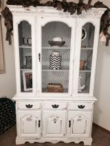 Most unique china cabinet makeover ideas 09