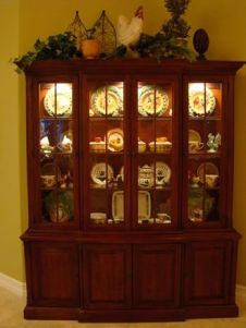 Most unique china cabinet makeover ideas 19