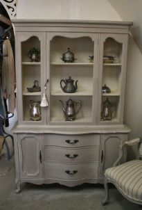 Most unique china cabinet makeover ideas 20
