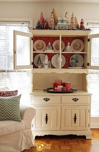Most unique china cabinet makeover ideas 29