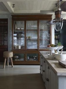 Most unique china cabinet makeover ideas 49