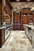 Wonderful wood kitchen design ideas for cozy kitchen inspiration 22