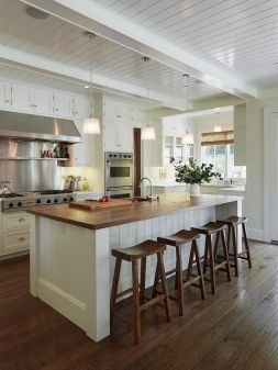 Wonderful wood kitchen design ideas for cozy kitchen inspiration 26