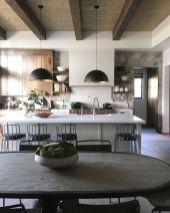 Wonderful wood kitchen design ideas for cozy kitchen inspiration 40