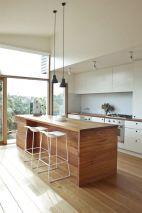 Wonderful wood kitchen design ideas for cozy kitchen inspiration 41