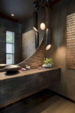 Adorable modern rustic bathroom ideas 06