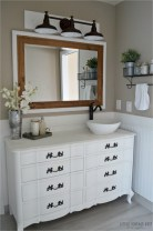 Adorable modern rustic bathroom ideas 11