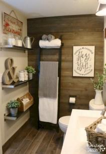 Adorable modern rustic bathroom ideas 21