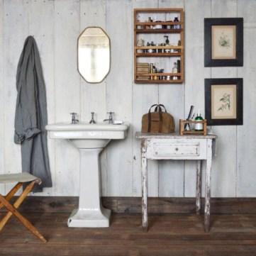 Adorable modern rustic bathroom ideas 35