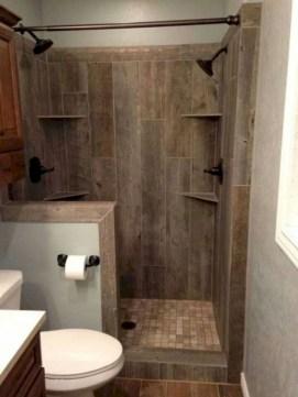 Adorable modern rustic bathroom ideas 36