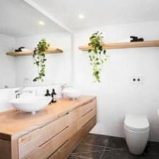 Adorable modern rustic bathroom ideas 39