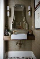 Affordable modern small bathroom vanities ideas 32