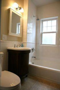 Affordable modern small bathroom vanities ideas 36