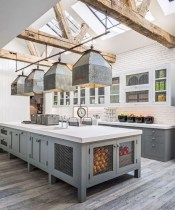 Amazing farmhouse kitchen decor ideas for inspiration 13