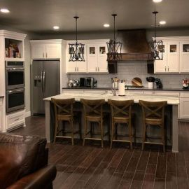 Amazing farmhouse kitchen decor ideas for inspiration 35