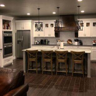 Amazing farmhouse kitchen decor ideas for inspiration 35