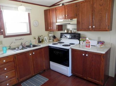 Amazing oak cabinet kitchen makeover ideas 09