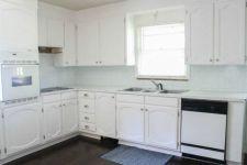 Amazing oak cabinet kitchen makeover ideas 10