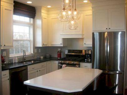 Amazing oak cabinet kitchen makeover ideas 32