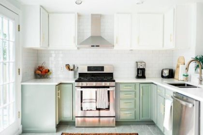 Awesome kitchen makeovers for small kitchens 01
