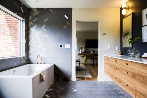 Beautiful mid century modern bathroom ideas 12
