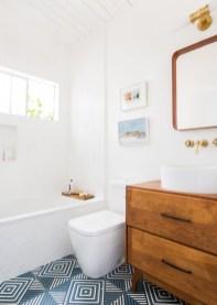 Beautiful mid century modern bathroom ideas 19