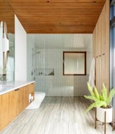 Beautiful mid century modern bathroom ideas 22