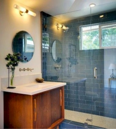 Beautiful mid century modern bathroom ideas 24