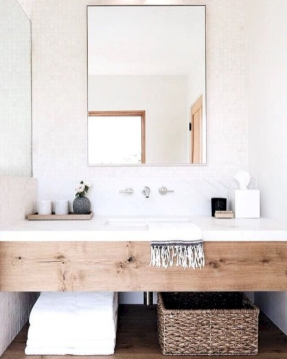 Beautiful mid century modern bathroom ideas 29