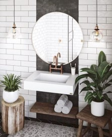 Beautiful mid century modern bathroom ideas 37