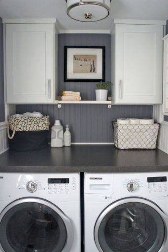Brilliant laundry room organization ideas 18