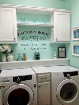 Brilliant laundry room organization ideas 25