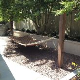 Comfy backyard hammock decor ideas 11