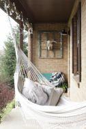 Comfy backyard hammock decor ideas 24