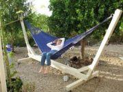 Comfy backyard hammock decor ideas 29