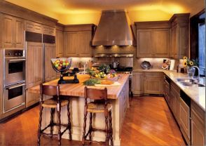 Cool inexpensive kitchen cabinet makeovers 04