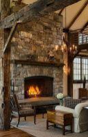 Cute rustic fireplace design ideas 01
