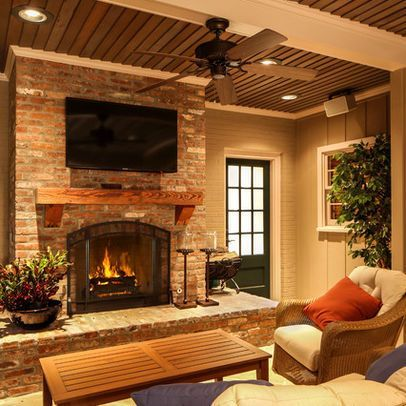 Cute rustic fireplace design ideas 02