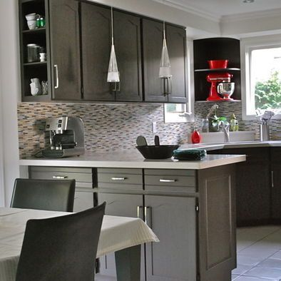 Easy grey and white kitchen backsplash ideas 13