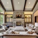 Easy rustic living room design ideas 07