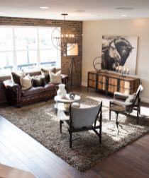 Easy rustic living room design ideas 08