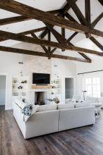 Easy rustic living room design ideas 11